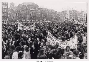 Politieke vrouwenstaking tegen de abortuswet 1981