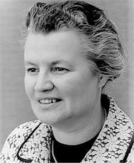 Annie Kessel, voorvrouw van de Katholieke Arbeiders Vrouwenbeweging
