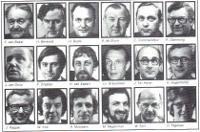 Het FNV-bestuur ten tijde van de oprichting in 1976