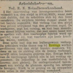 Bericht uit de Limburger Koerier, 3 augustus 1917