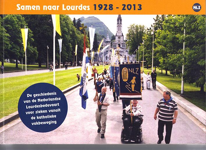 Boekomslag Samen naar Lourdes