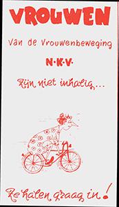 Affiche Vrouwenbond NKV