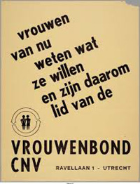 Brochure Vrouwenbond CNV