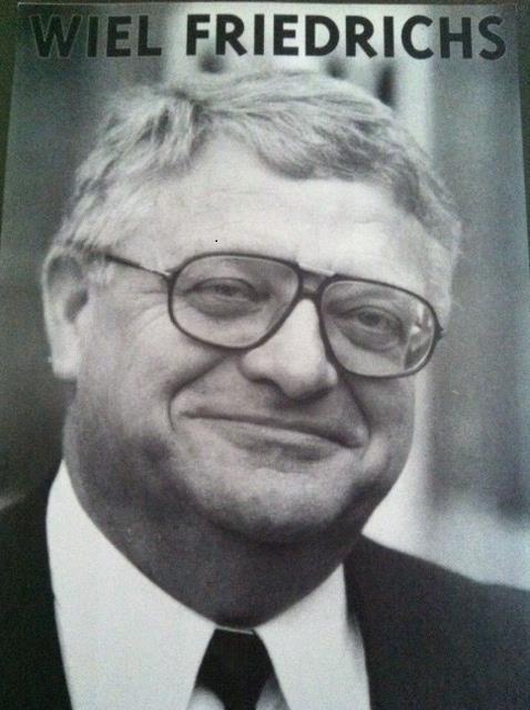Wiel Friedrichs, oud-voorzitter FNV-Limburg