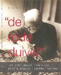 Boekomslag Pieter Roelof Harkema, De rode duivel