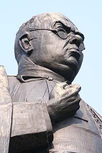 Standbeeld Herman Schaepman in Tubbergen